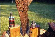 Drewniane skorupki z duszą. / Hand made wood mods. Elektroniczne papierosy wykonane ręcznie.