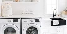 ⇢ Home: Laundry / Laundry room decor, storage, and diys.