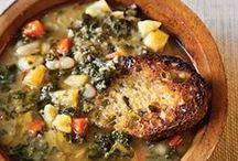 Souped up! / There is nothing better than a big bowl of soup on a cold day. Comfort food!