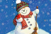 Snowmen Happiness / by Michelle Serl