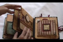 Mini books...etc. / Mini book inspirations and ideas. My very favorite board of all :) / by Rann Dyer