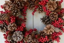 Pine Cones, Acorns and Wreaths / Ideas For Wreaths and Pine Cones / by Luci Sweet