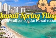 Hawaii Spring Fling Sale! / by Wyndham Extra Holidays