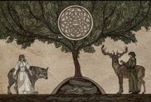 Celtic- The Old Ways. / Nature, Seasons, Inner Self, Thankfulness.... / by Heather Marie