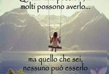 Le frasi più belle / Words speak to the heart.