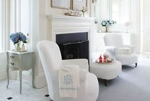 h e a r t h / perfect for a fireside chat / by lisa buck   operation beach cottage