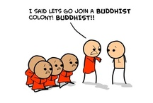 buddhist comics... / from www.zenplicity.org / by David Musgrove