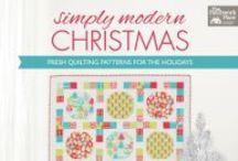 My book ~ Simply Modern Christmas