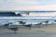 Art - coast and sea
