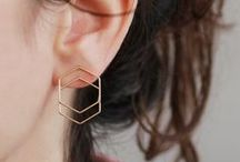 Geometric Jewellery / Amazing geometric jewellery. All items are handmade and carefully chosen by our DaWanda team.