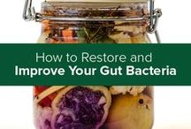 Gut Health & Probiotics / Restoring and rebalancing the gut bacteria is crucial. Your physical and mental health are directly influenced by, and dependent on, the bacteria and other microbes that live in and on your body. Properly maintaining the microflora is one of the underlying secrets to extreme longevity.