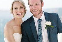 Christine & Luke | Real Bride / www.luvbridal.com.au