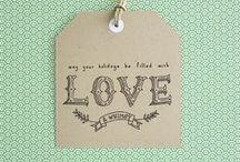 Love... Labels & Printables / by Porcupine Jane