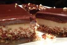RAW Desserts / A selection of delicious RAW desserts for you to try and share with your friends :))