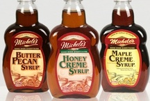 Michele Syrups, Let's cook / Breakfast syrups that you can cook with.