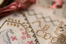Love... Needlepoint/Cross Stitch / by Porcupine Jane