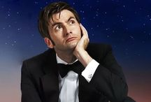 David Tennant / The 10th Doctor Who, but also a very handsome young man! / by Pamela Foreman