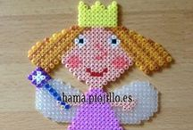 Plantillas y creaciones con Hama Beads
