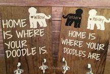 Dog - Art / Dog and puppy art.