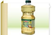 Smart Balance Products / Learn about our whole line of heart-healthier products: buttery spreads, peanut butters, cooking oils and sprays, and mayonnaise.
