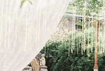 OUTDOOR SUMMER WEDDING DETAILS