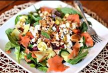 Salad Inspiration / I love making salads and finding new combinations and ideas. Follow this board and add some fun and variety to your salads!