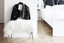 INTERIORS | Bedroom / Inspiration for bedrooms from lighting, furnishings, flooring, bedframes, side tables, wardrobes and more
