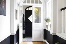 INTERIORS | Entrance Halls / Entrance hall interior inspiration and decor