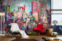 Wallpaper / Wallpapers that complement the room