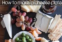 Paleo food / a good cheese plate