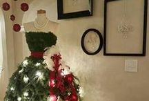 Christmas Tree Dresses / by ღ Sharon ღ