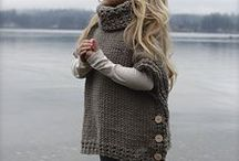 Anyday comfy / Winter2016...favorite ideas for knitting or design enhancement