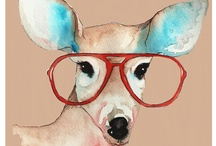 Art & Prints Charming / Art that tickles my fancy.  / by Amy Petz