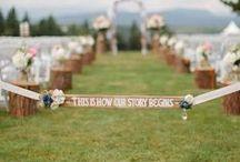 Wedding Ideas / by Shelley Stofferan