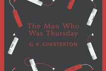 Chesterton Book Covers / Interesting book covers of books having to do with G.K. Chesterton / by The American Chesterton Society