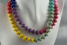 Beads, Beads & More Beads - Our Work / You need beads for jewelry making and we love to create our own.  We have more control over the colors, size and styles this way for creating our whole design.