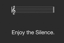 Enjoy The Silence / For music lovers / by montserrat r
