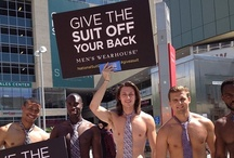 NATIONAL SUIT DRIVE 2012. / Give a suit, change a life! In it's fifth year, the National Suit Drive raised over 110k articles of gently worn professional attire and $25k from social mentions. Donations are used to benefit men transitioning into the workforce. Great work!