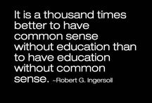 Common Sense / by The American Chesterton Society