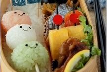Kyaraben Bento / Japanese Kyaraben or Charaben (キャラ弁) is the ART of making bento boxes that resemble manga or anime cartoon characters with rice, nori and other staples. These kyaraben-style bento are now very popular in Japan, and are even finding favor internationally.  / by Yumina Tokyo