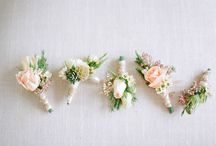 Wedding | Buttonholes / A board of our favourite buttonholes for your groom and his men.