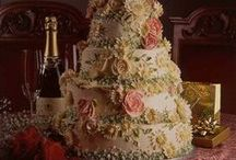 """Wedding Cakes & More / Please also visit my board """"Creative Cakes"""" as there are some fabulous cakes that can double for engagement parties and weddings. / by Heather Froehly"""