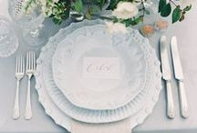 Wedding | Place Settings / A board of our favourite place settings for your wedding or private event.
