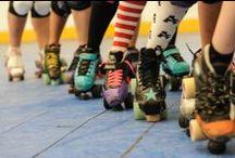 Roller Derby / Roller Derby & Rollerskating Inspiration