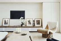 apartment living. / ways/ideas to organize / decorate a rental apartment / by pixelfood