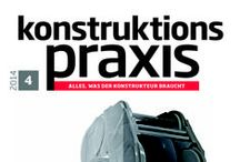 konstruktionspraxis / Special interest magazine for developers and design engineers.