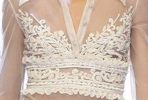 * white LACE * / White lace.