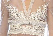 * white LACE * / White lace.