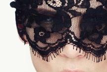 * black LACE * / Black lace.