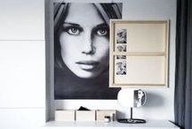 * scandinavian style  * / Interiors inspired by the scandinavian interior style. Scandi. Nordic.
